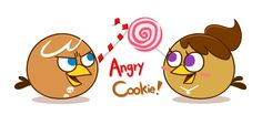 Angry Cookie! by jgu112 on DeviantArt
