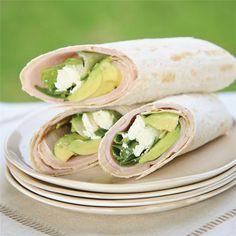 Ham & Avocado Lavash Rolls