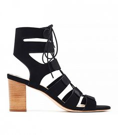 Loeffler Randall Thea Gladiator Sandals in black