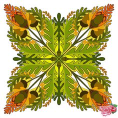Coloring Apps, Coloring Book Pages, Adult Coloring, Mandala Art, Color By Numbers, Painted Clothes, Happy Colors, Plant Leaves, Paper Crafts