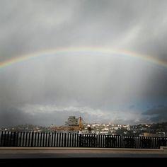 #Regenbogen über Stuttgart.