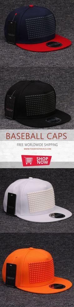Hip Hop Snapback Cap Men Flat Brim Baseball Hat  - Hat Size  7 1-2 7312d9b5c113