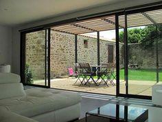 Extension de maison Nantes - OUEST EXTENSION : agrandissement maison, Saint Nazaire, 44, La Baule Escoublac, extension maison bois, agrandissement maison en bois, bardage #pergola