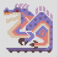 Great Jaggi Threat Level : ★★★ The alpha male that leads Jaggi packs. Most males leave the group upon reaching maturity, returning late to compete with others. The dominant male then becomes a Great Jaggi. Apparently, they can issue fairly complex orders via howling. ~*~*~*~ This is a