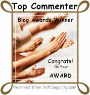Top Commenter Contest Winner! I am happy to be Winner #14.