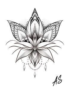 Tattoos - Mandala Dotwork Lotus Artwork by Adison Tattoos Tattoosquotes flowerTattoos Tattoosfonts watercolorTattoos Ale – Tattoos Tattoo Drawings, Body Art Tattoos, Small Tattoos, Tiny Tattoo, Tattoo Sketches, Tatoos, Dotwork Tattoo Mandala, Arm Tattoo, Tattoo Moon