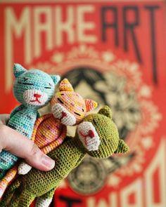 Crochet Cats Free Patterns