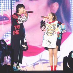 2ne1 Minzy, 2ne1 Dara, Cl 2ne1, The Band, Bigbang G Dragon, Sandara Park, Jiyong, Thinspiration