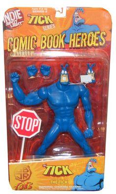Indie Spotlight Comic Book Heroes Action Figure Best Cartoons Ever, Cool Cartoons, Toy Corner, Batman Vs Superman, Comic Book Heroes, Ticks, Comic Character, Comic Art, Action Figures