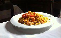 Tagliolini agli scampi #pasta #italianfood #trastevere