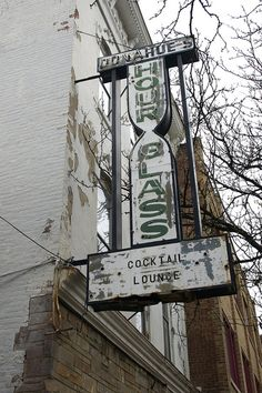 Donahue's Hour Glass, Wilkes-Barre Neon Sign by straubted, via Flickr