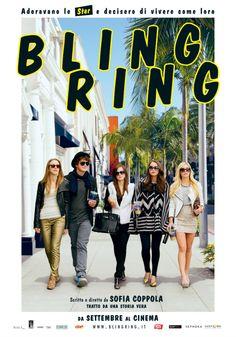 Cronaca d'appeal. Allarme giovani allo sbando. #BlingRing (di #SofiaCoppola) è una debole commedia superficiale
