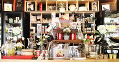 Bringing a nostalgic touch to gourmet eating, Vale Fine Foods is a deli meets vintage shop, where artisan foods from across the world sit amongst pre-loved wares from My Vintage Store. Artisan Food, Deli, Vintage Shops, Hamilton, Restaurants, Foods, Home Decor, Gourmet, Food Food