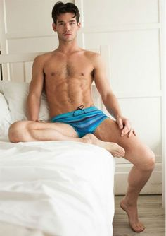 Chris Fawcett Snaps for Mr Turk #ChrisFawcett #MrTurk  #underwear #model #Hunk