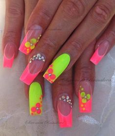 Acrylic nails have to say these are my totally favorite I love the colors