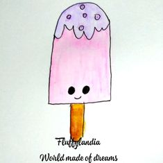 Snoopy, Ice Cream, Sweet, Fictional Characters, Art, Sherbet Ice Cream, Craft Art, Icecream Craft, Kunst