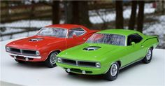Randy B 70 cuda builds