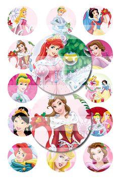 SPECIAL Christmas Disney Princesses Princess by RuuzROCKinGoodiez, $2.20