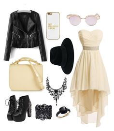 """""""Summer nights"""" by abi-annison on Polyvore featuring Marni, BaubleBar, Le Specs, Maison Michel and Pomellato"""