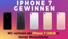 Gewinne mit Apfelkiste und ein wenig Glück ein iPhone 7 mit 128GB Speicher in deiner Wunschfarbe.  https://www.alle-schweizer-wettbewerbe.ch/gewinne-ein-iphone-7-128gb/