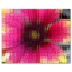 mosaic flower Puzzle on CafePress.com