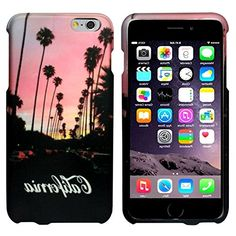 "myLife Berry Pink and Shaded Black {California Road Sunset Palm Trees Silhouette} 2 Piece Snap-On Rubberized Protective Faceplate Case for the NEW iPhone 6 Plus (6G) 6th Generation Phone by Apple, 5.5"" Screen Version ""All Ports Accessible"" myLife Brand Products http://www.amazon.com/dp/B00UB8VCJE/ref=cm_sw_r_pi_dp_eDAhvb1PGCCGW"