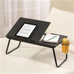 5ca82e09a41 Lap Tray Desk In Bed Tilted Home Work Drawing Drafting Table Laptop Tablet  Stand