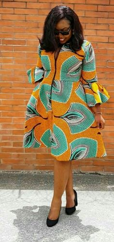 Classy Ankara Wears To Inspire You This Weekend - WearitAfrica Best African Dresses, Latest African Fashion Dresses, African Print Fashion, Africa Fashion, African Attire, African Print Dresses, Dress Fashion, African Outfits, Ankara Dress Styles