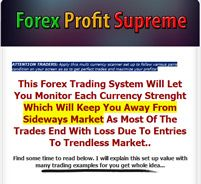 Forex Profit Supreme – Apply this multi currency scanner set up to follow various pairs condition on your screen so as to get perfect trades and maximize your profits!