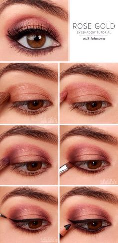 Diy Rose Gold Makeup  #Beauty #Trusper #Tip
