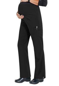 #nursinguniforms #medicalscrubs Med Couture Plus One Maternity Cargo Scrub Pants - Black - 2X: COMFORT FOR TWOWhat to… #uniforms #scrubs