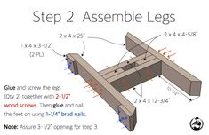 diy table saw workbench Trestle Table Plans, Farmhouse Table Plans, Coffee Table Plans, Diy Coffee Table, Diy Table, Wood Table, Woodworking Patterns, Woodworking Projects, Woodworking Equipment