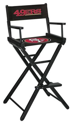 Use this Exclusive coupon code: PINFIVE to receive an additional 5% off the San Francisco 49ers Director's Chair - Bar Height at SportsFansPlus.com