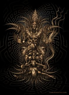 Butterfly Effect sepia Dark Fantasy Art, Dark Art, Yin Yang Art, Gothic Wallpaper, Biomechanical Tattoo, Acid Art, Psy Art, Art Folder, Visionary Art