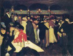 Moulin de la Galette (1900) by Pablo Picasso