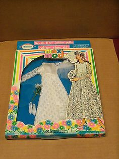 """Maxi Mod """"Bridal Outfit"""" Fashion Doll Outfit MIP by M s Shillman"""