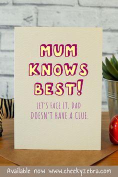 Super Gifts For Mum Birthday Mom Ideas Funny Mom Birthday Cards, Mother Birthday Gifts, Birthday Diy, Birthday Ideas For Mum, Mother Birthday Card, Birthday Quotes, Grandpa Birthday, Happy Birthday, Card Birthday