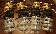 Venetian Mask Party Pack - should probably get some masks for the people who will inevitably not wear one.