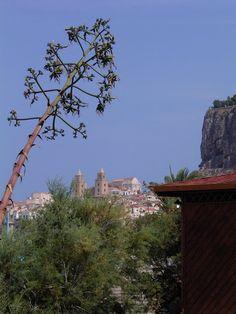 Cefalu from afar - Cefalu, Palermo