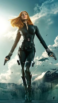 Natasha Romanoff Black Widow - visit to grab an unforgettable cool 3D Super Hero…