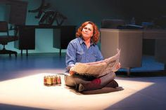 Kathleen Turner as Molly Ivins at the Geffen Playhouse