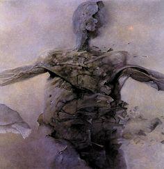 Zdzislaw Beksinski - 707 artworks - WikiArt.org
