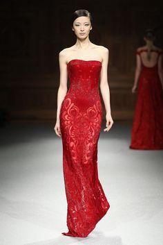 Tony Ward Couture Spring 2015 Collection I Style 21 Robe Rouge, Robe De  Soirée, a0eb0f9fd76