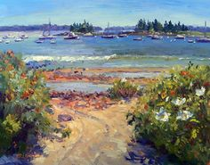 September 23, 2012 Fourteen Paintings Sold at the Bar Harbor Art Show!   Plein Aire in Maine