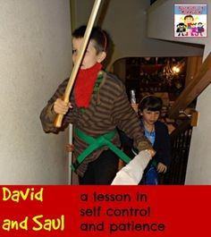 David and Saul lesson - Adventures in Mommydom