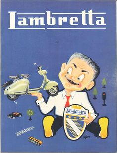 Scooters Lambretta - Jours de France, 24 mars 1956