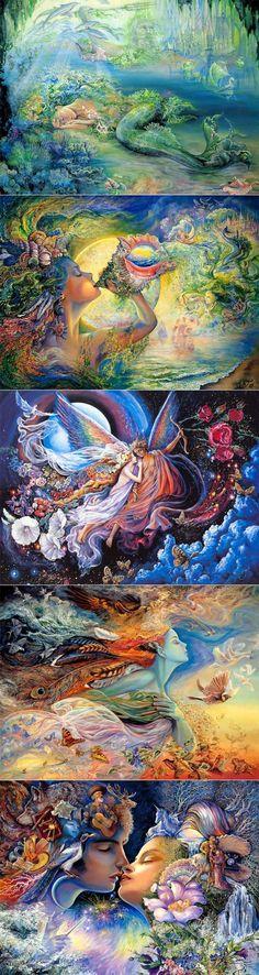 Волшебный мир Josephine Wall | Искусство | Постила