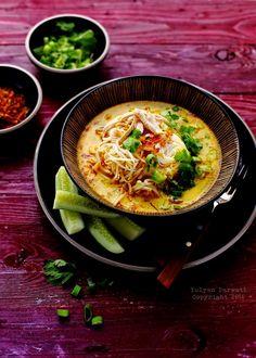 Laksa Ayam - Indonesian Chicken Laksa