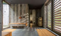 Salvaged wood clads handsome mountain cabin in Vermont | Inhabitat - Green Design, Innovation, Architecture, Green Building