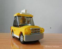 lego yellow cab